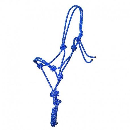 "Rope halter ""Glow"""