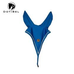 DotiBel long fly veil royal blue