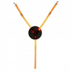 Collier de chasse réfléchissant LED